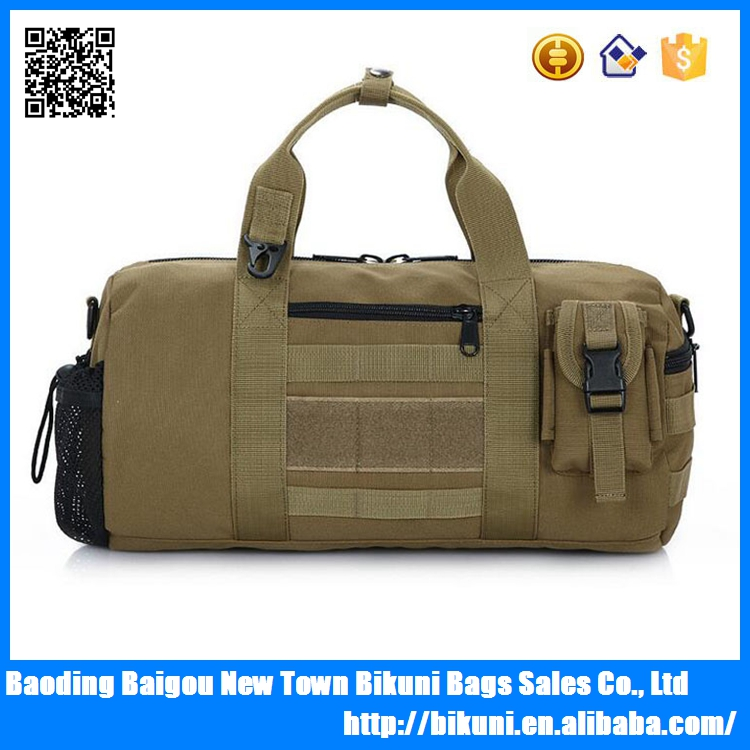 Outdoor sport waterproof military bag duffel bag for gym