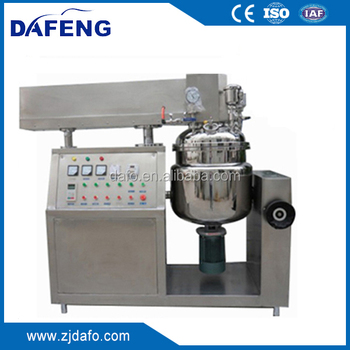 vacuum homogenizing /emulsifying machine