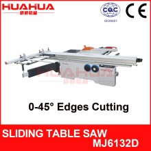 MJ6132D tilting precise wood cutting sliding table panel saw machine