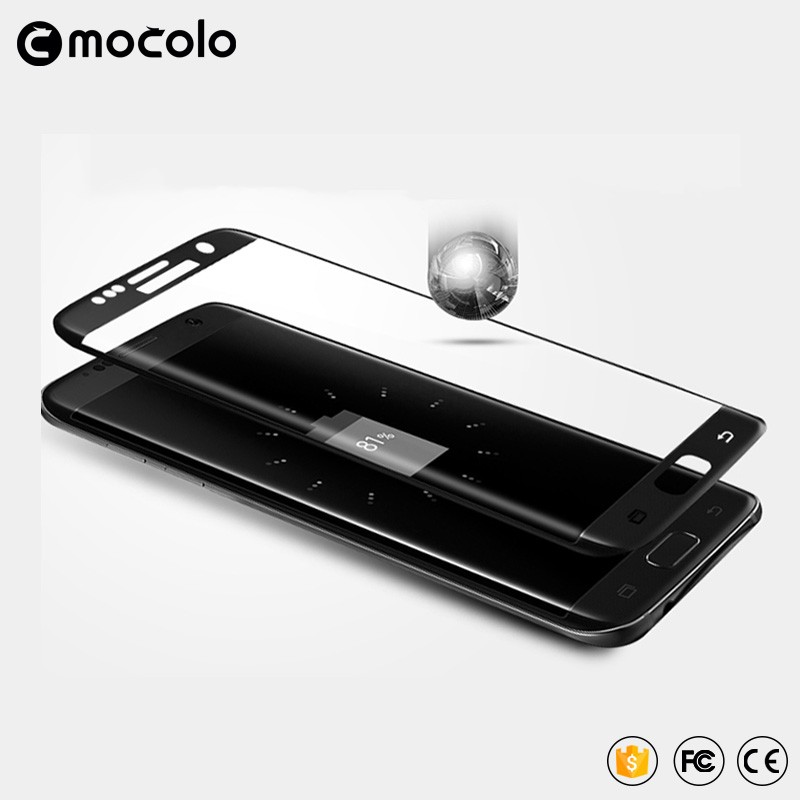 Mocolo For Samsung Galaxy s7 edge Full Cover 3D curved tempered glass screen protector