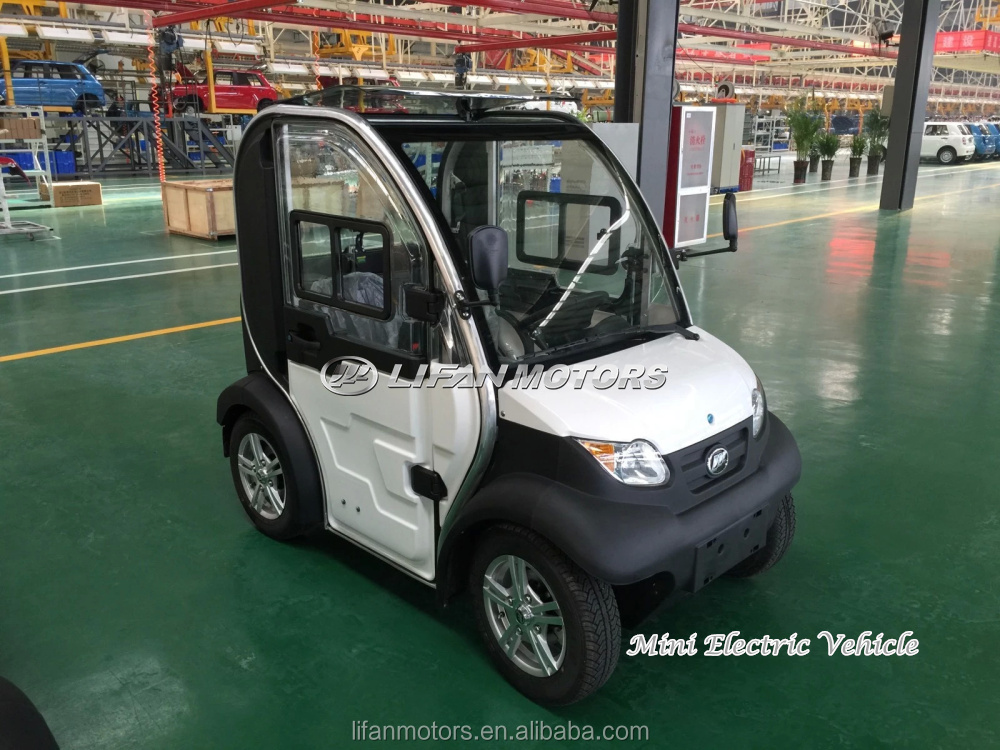 100E Environmentally Automobile Electric Vehicle