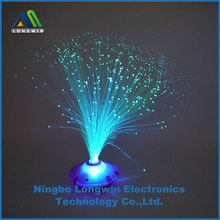 battery operated color changing LED fiber optic decorative light