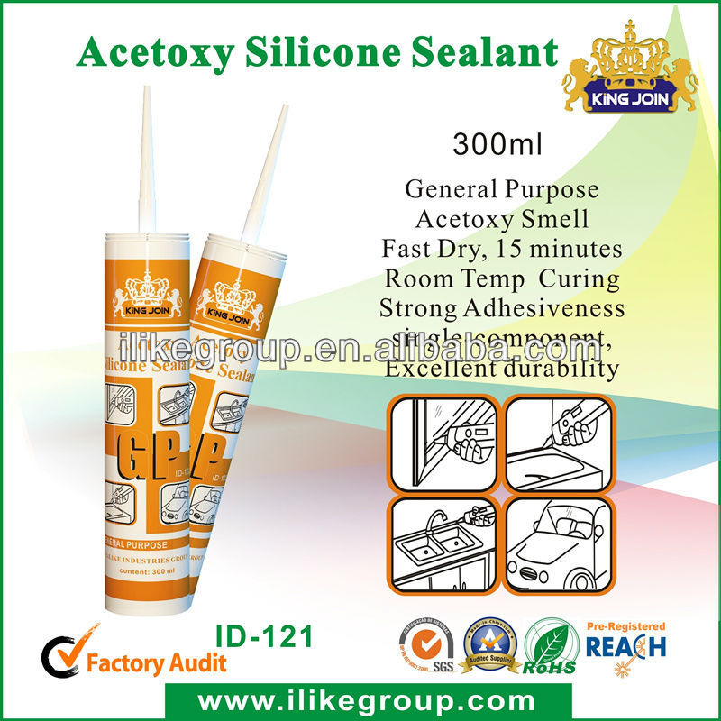 King join General purpose silicone sealant with good adhesion(TUV)
