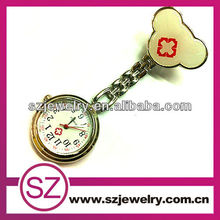 commercial used lady metal pin fob nurse wrist watch