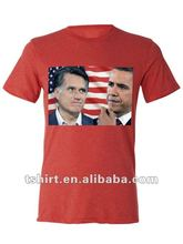 USA president election Obama VS Romney t-shirt