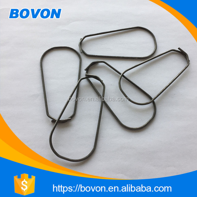 high quality cheap pvc pipe bending spring shock spring flat spring clip