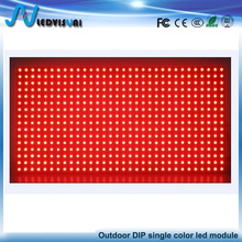 Outdoor p10 single color led module DIP red/blue/green/white/yellow led display module