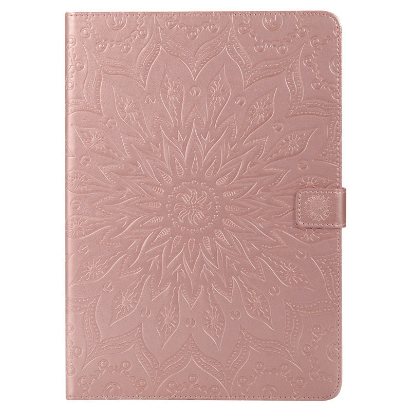 New arrival 2018 new design high quality product mandala pattern flip leather case for ipad mini 4 case