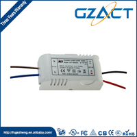 Factory price waterproof 8x1w 24v 350ma led driver