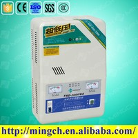 CE ROHS single phase 3000VA -10000va automatic servo motor wall type home voltage stabilizer