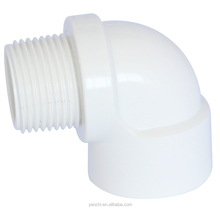 BS thread water supply pvc pipe fittings male& female elbow