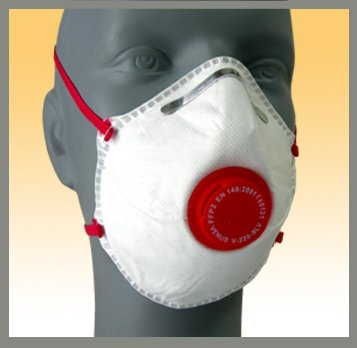 Cup style respirator