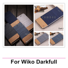 Etui Folio Housse Coque Wallet Leather Case Cover for Wiko Rainbow/Cink+/Cink Slim/OZZY/IGGY