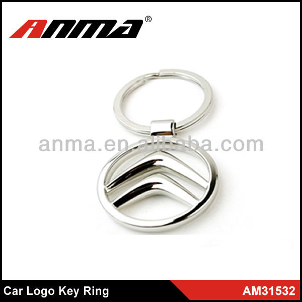 car brand key rings,cute car key chain metal