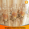 China supplier embroidery rose flower wedding decoration curtain