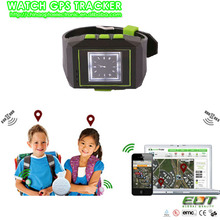 quadband sos cellphone personal gps tracker watch