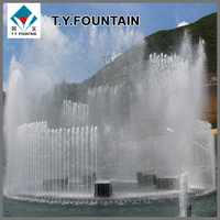 Outdoor Large Lakes Floating Music Danicng Water Fountain Stainless Steel Pump Hot Sale Product