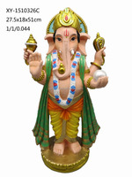 Antique resin hindu god ganesha statue for decoration