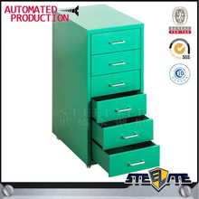 Office Helmer Cabinet Filing Drawer Unit on Easy Moving Flexible Wheels