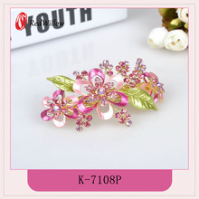 2016 New design low price nickle free barrette hair clip