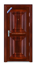 Solid main door design for home houses with black oak finished