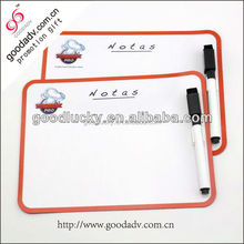 Easy to erase and write pen mark flexible magnetic whiteboard fridge