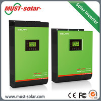 Optional Charging Current 5A To 45A Solar Panels With Built In Inverter