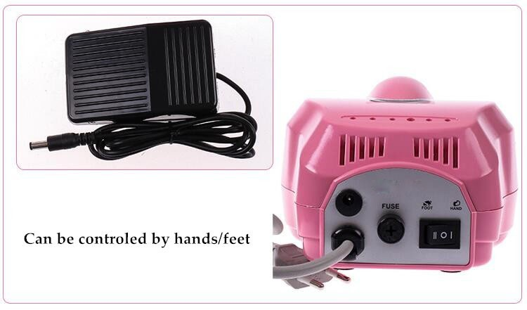 Factory manufacture professional nail polisher srtong electric hand drill nail