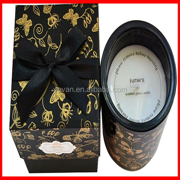 2014 Newest High Quality Custom Wholesale Lovely Scented Candle Paper Packaging Box