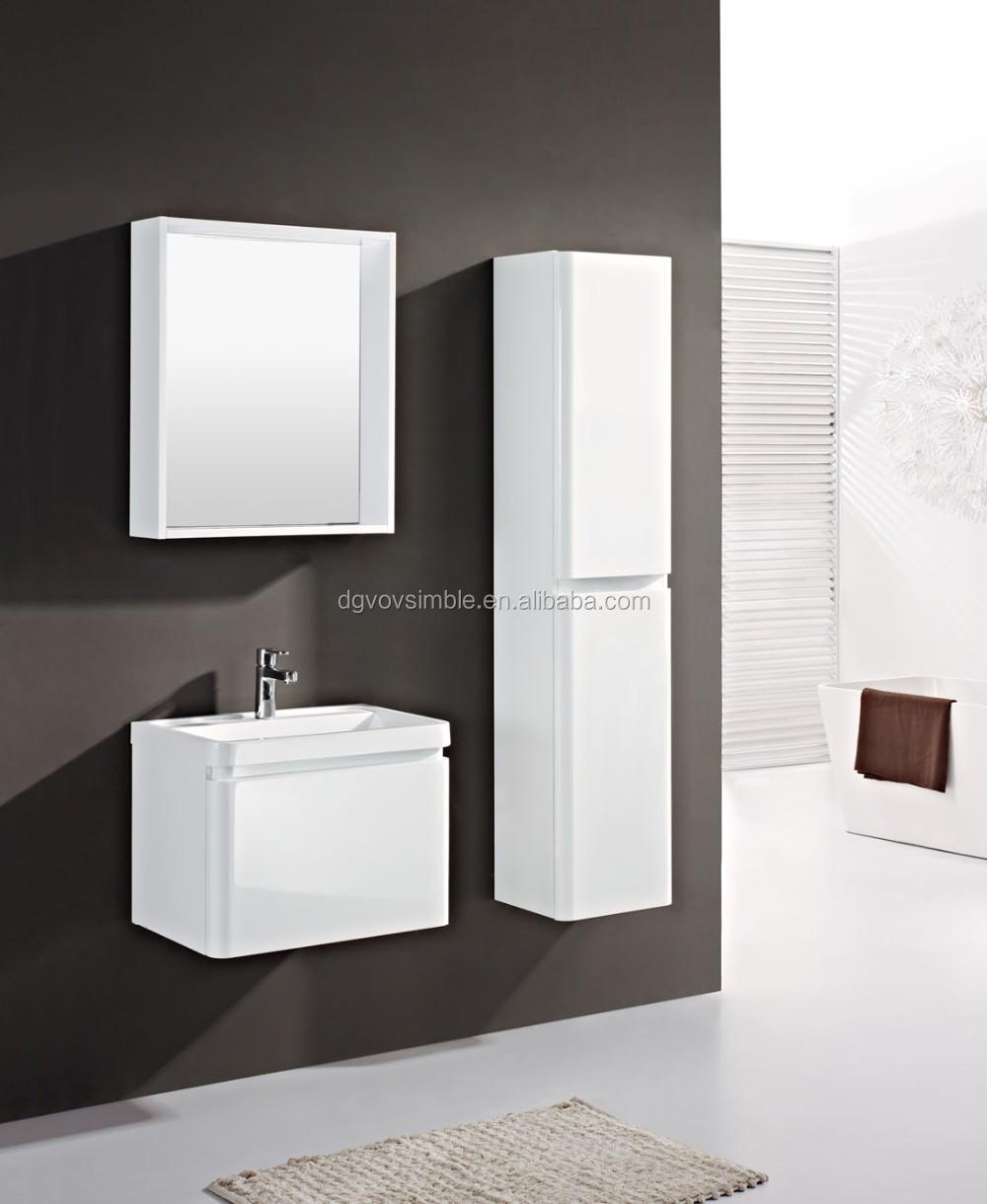 Mueble de baño pvc baño vanidad moderno cuarto de baño gabinetes ...