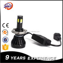 2017 new hot products auto parts automobiles & motorcycles 30w 6500K super bright auto bulb h4 led headlight