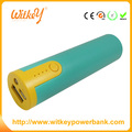 New portable EE bar power bank 2600mah mobile charger with LED