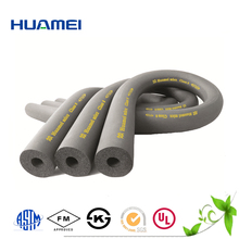 nitrile rubber solid foam tubes black plastic water pipe roll
