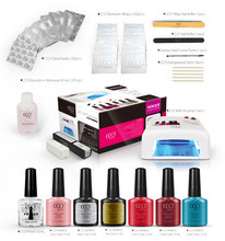 Optionally Achieve Beautiful Self Ornament Effect UV Gel Polish ,Soak Off UV/LED Nail Gel polish kit