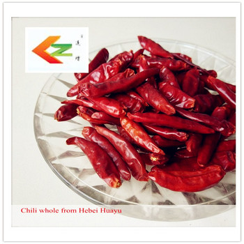 Red chili whole( spices and herbs)