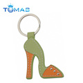 mini leather shoe keyrings