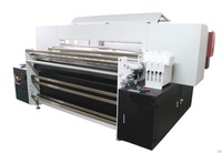 Belt digital textile printing machine