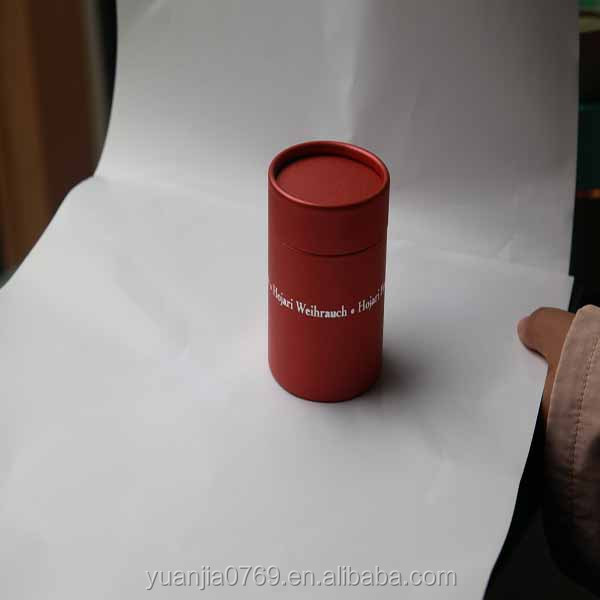 Wholesale Arab customized red paper tube