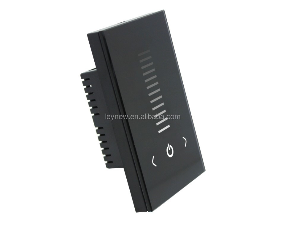 Good Quality AC90-240V Europe Standard 0-10V Touch Panel Dimmer