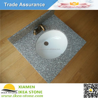 G664 Cheap Granite Vanity Top With Vessel Sink