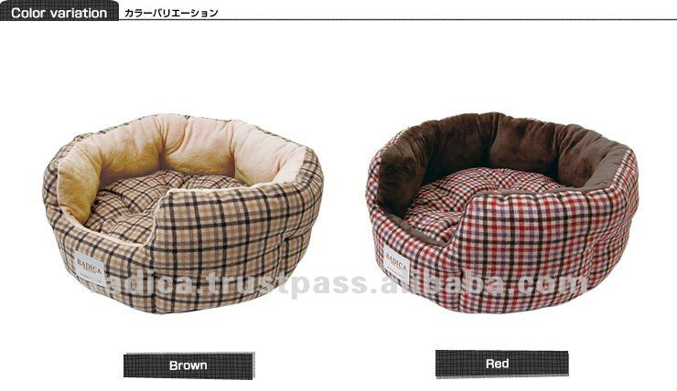 Gun Club Check fluffy pet bed for dogs as best dog bed