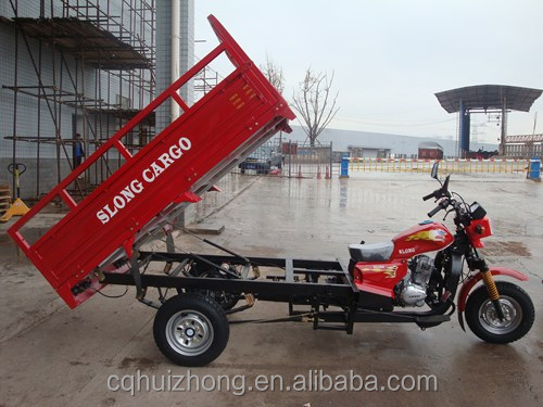 KST150ZH 150cc air cooling hand lifter cargo tricycle three wheel motorcycle price USD810