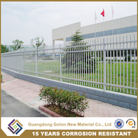 High quality children playground fence, school fence, wrought iron fence