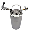 19L keg  +adjustable beer tap