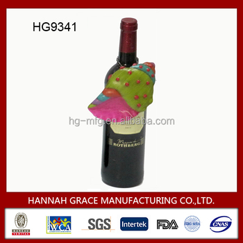 Metal Decorative Barware Accessories for Wine Bottle