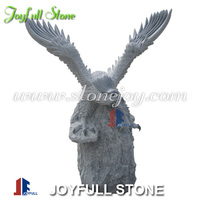 Stone animal sculpture and carvings