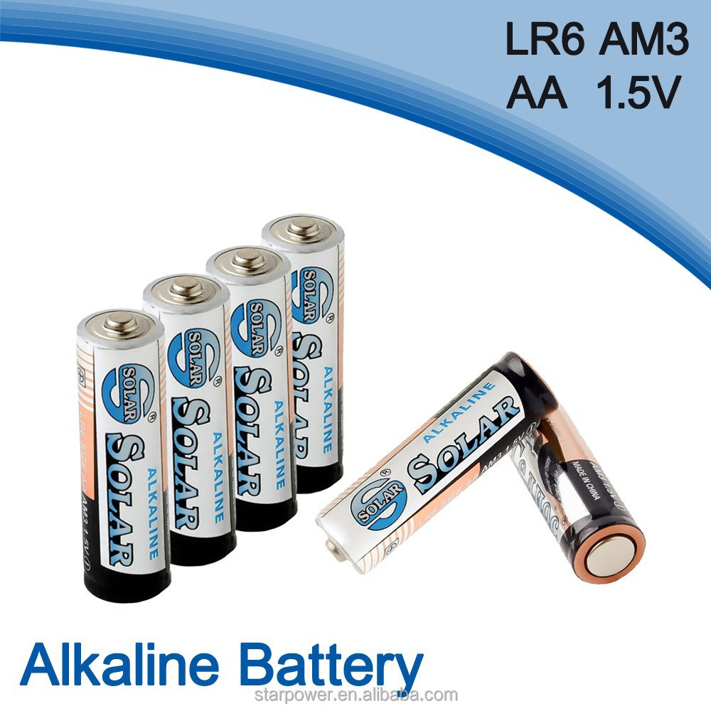 LR6 am3 rechargeable battery aa