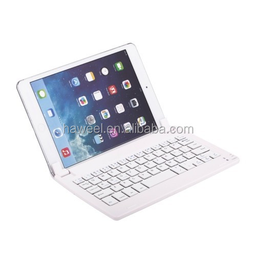 New Ultrathin Magnetic Suction Bluetooth Keyboard for iPad mini 3 / 2 / 1(White)