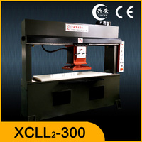 Hydraulic knife cloth cutting machine/travelling head die cutting press