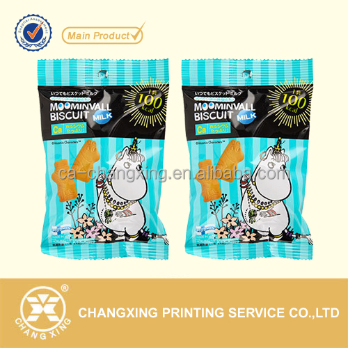 Food safe biscuits packaging plastic sachets
